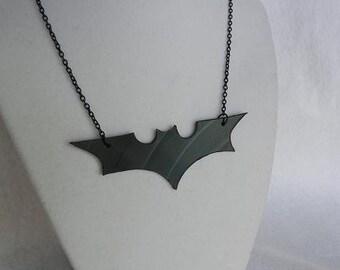 Batman Dark Knight Logo Vinyl Record Jewelry