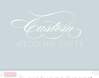 Custom Wedding Invitation - Printable