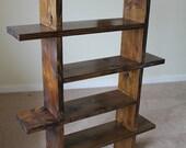Unique Wood Bookshelf