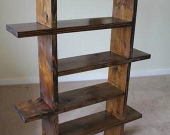 Bookshelf wood unique