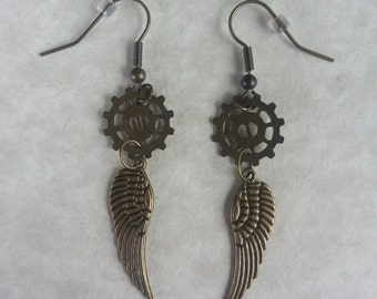 Steampunk Earrings-006