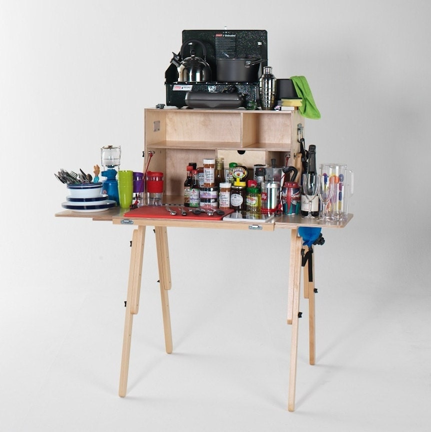 Items Similar To Portable Camp Kitchen Stand With
