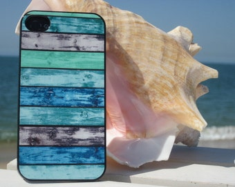 Beach Wood  Print Cell Phone Case for IPhone 5/5S,Beach beach  IPhone 6/6S, Beach Phone Cases, IPhone 7 and Iphone 7 plus