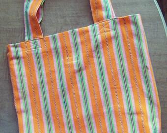 Tote in Fair Trade Guatemalan Fabric