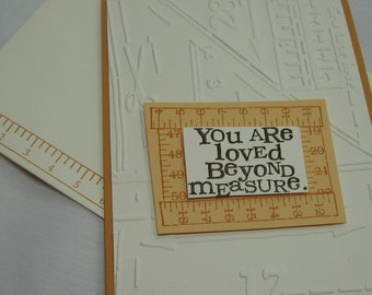 You are Loved Beyond Measure Greeting Card