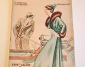 Vintage Magazine French Le Miroir du Monde 1933 Featuring Science and Automobiles