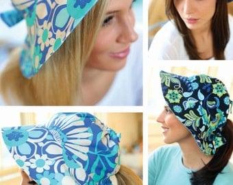 Reversible Adult Sun Hat Sewing Pattern PDF
