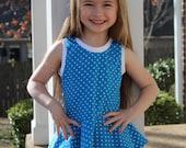 Sassy Knit Peplum Tank Top sizes 1-7
