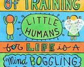 Mind Boggling Process (5x7 doodle print)