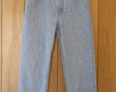 "High Waisted Eddie Bauer Jeans  Slightly distressed 30"" x 30"""