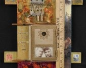 Assemblage art:  In the Reveleation of Myself original mixed media by Leslee Lukosh of Foundturtle in Portland, Oregon