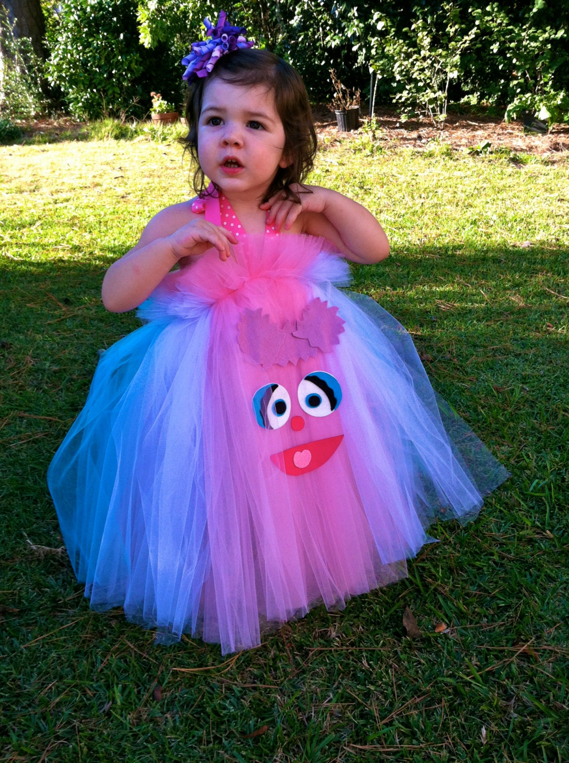 Abby Cadabby Inspired Halloween Costume Birthday Dress Tutu