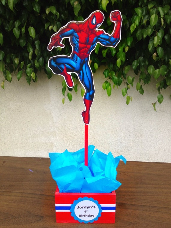 Etsy your place to buy and sell all things handmade for Spiderman decorations
