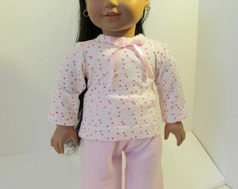 Pajamas, Sleep Set,  Sleep Pants, Tshirt, Doll Pajamas