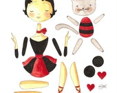 French Paper Dolls