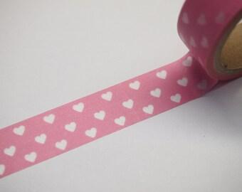 Washi Tape - heart (5M)