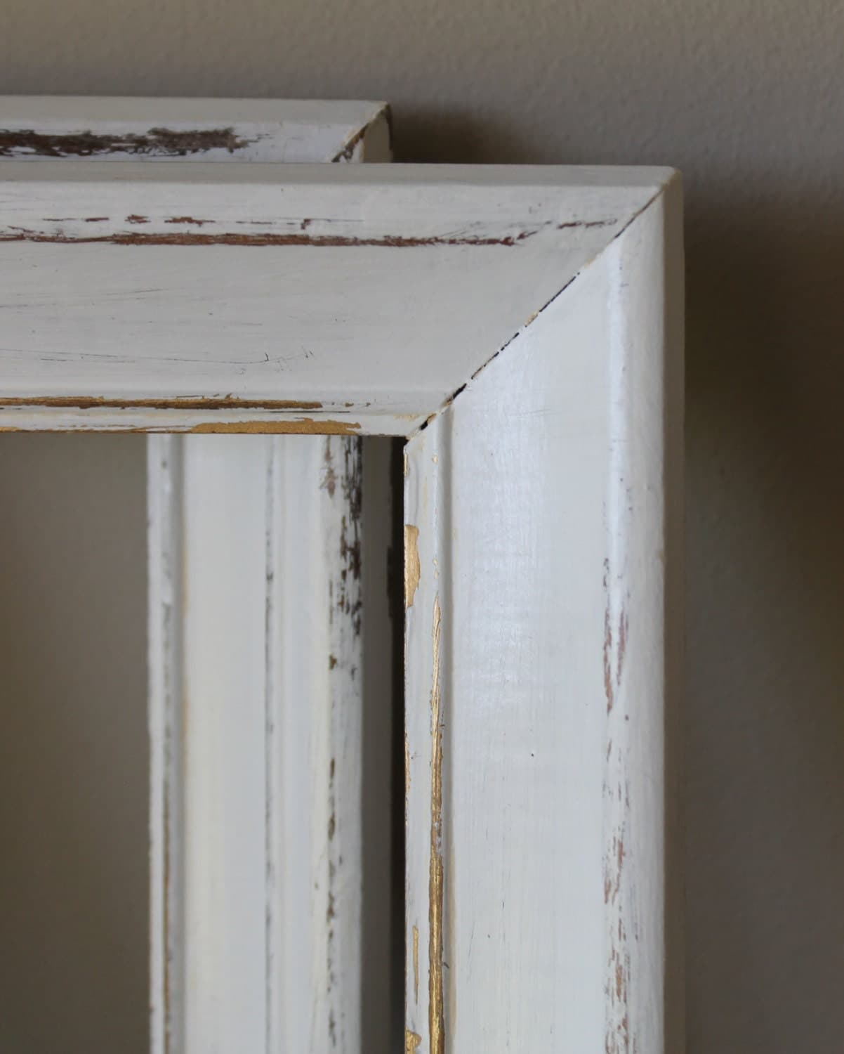 Distressed wood frame white picture photo by - White wooden picture frames ...