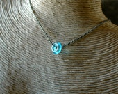 Mini Bombay Uno Necklace | Upcycled Recycled Repurposed