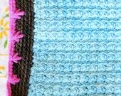 Crocheted Baby Blanket PDF Pattern