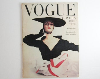 Vintage Vogue Covers 24 Large Posters Vintage Fashion Book Fashion Home Decor Vintage Art Prints - Collectible Posters - Fashion Photography