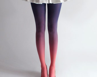 BZR Ombré Tights in Sky *Discontinued*