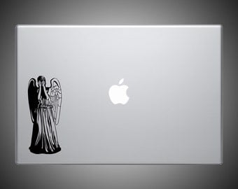 Weeping Angel Sticker - Doctor Who Vinyl Decal