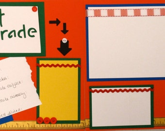 Christmas Special*** 1st thru 12th grade 12x12 Pre-Made Layouts