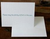 Plenty of Fish in the Sea - Anniversary Card