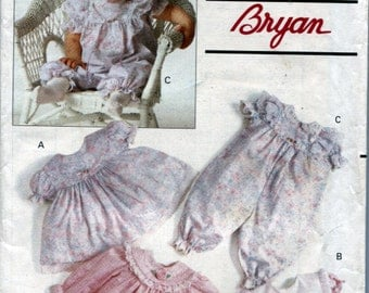 Butterick 5001, Infants Dress, Panties and Party Pants, Sizes L to XL