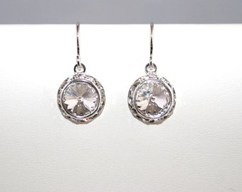 Swarovski Crystal Rhinestone Earrings