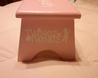 Twinkle Twinkle Personalized Step Stool