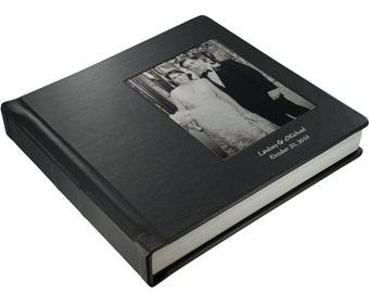 Wedding Album - Custom Flush Mount Wedding Album with Cameo photo 12 X 12