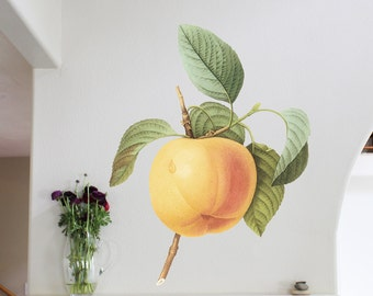 41in Apple - Floral Wall Sticker Decal