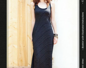 The Mission Maxi sewing pattern - Jamie Christina sewing pattern