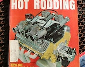 Popular Hot Rodding, February 1967, vintage magazine, dragsters, hot rods, gas station mancave, gearhead motorist