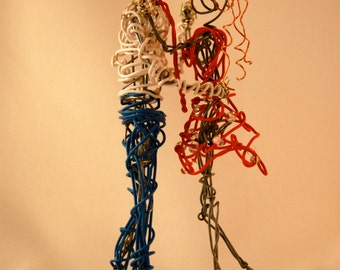 MADE TO ORDER: Tiny Dancers Wire Sculpture