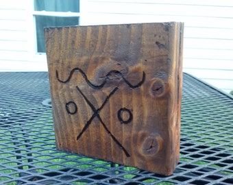 wooden house blessing w hobo code designs - 2 sided