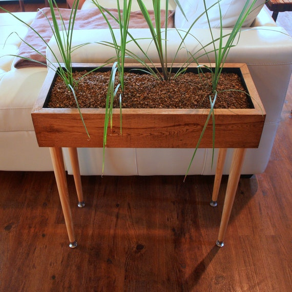 Indoor Planter Box Ideas: DANISH MODERN DESIGN Style Planter Box Table By