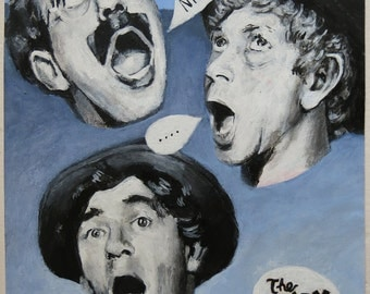 Original Painting - 'The Marx Brothers: A Night at the Opera' by Peter Mack
