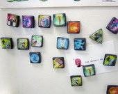 League of legends refrigerator magnets Summoner Spells set of six - The original Summoner spell magnets