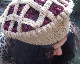 Raspberry Jam Pie Hat