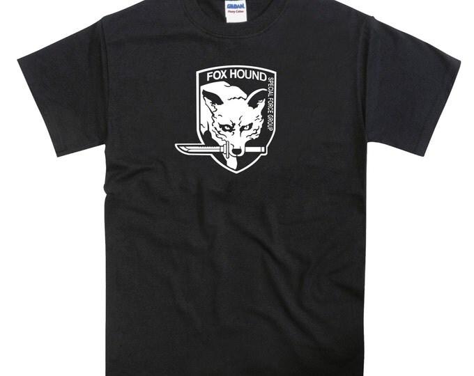 Metal Gear Solid Fox Hound Tribute Tshirt