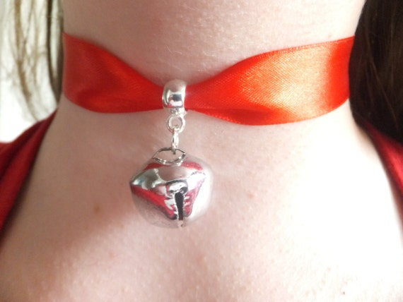 Items Similar To Cosplay Red Ribbon Amp Silver Bell Cat