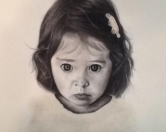 Charcoal Portrait - PortraitsbyKell