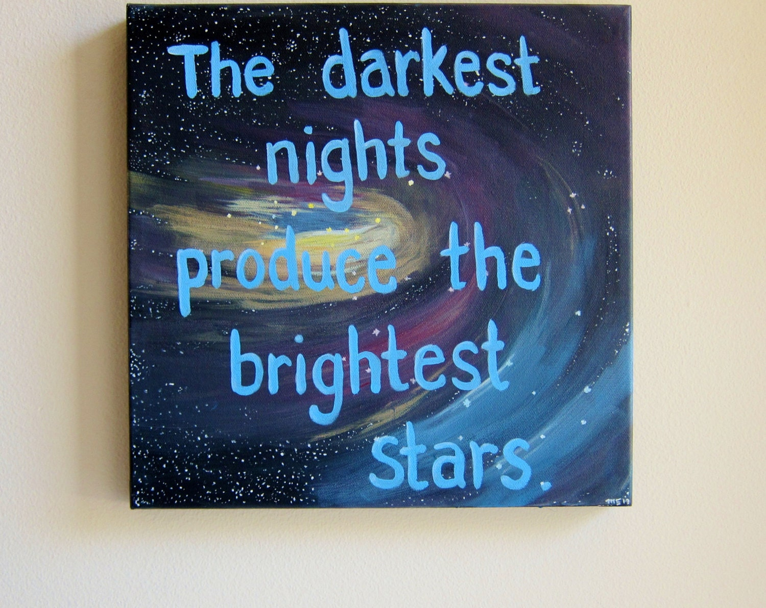 On sale inspirational quotes on canvas quote paintings the for Inspirational quotes painted on canvas
