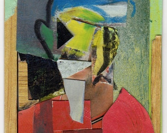 Original Collage - 'Future Ballplayer' by Peter Mack