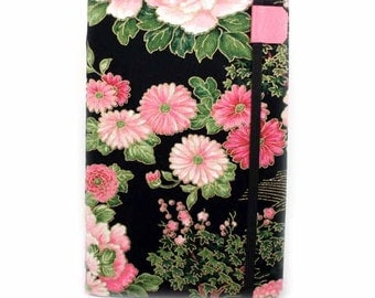 Kindle Cover made to order - Asian Floral - Kindle Paperwhite, Kindle Touch, Keyboard, Kindle 3 or 4, spring floral kindle case
