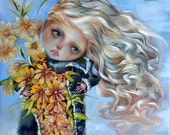 Blossoming a giclee