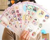 Retro Scrapbook Sticker Set Vol.2 -  Lovely Child