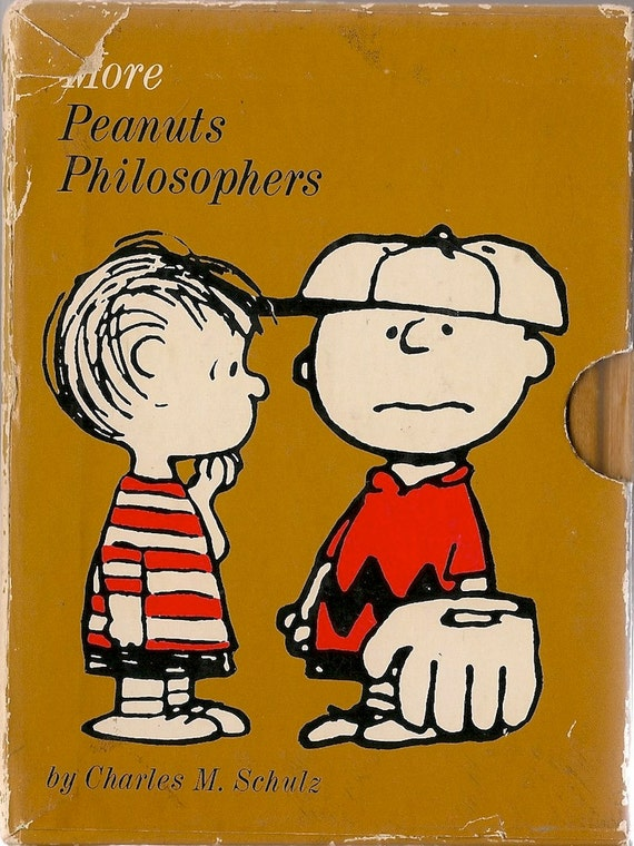 VINTAGE KIDS BOOK More Peanuts Philosophers Box Set